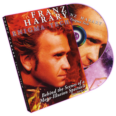 Franz Harary: Enigma TechBehind the Scenes of a Mega-Illusion Spectacle (2 DVD set) by Miracle Factory
