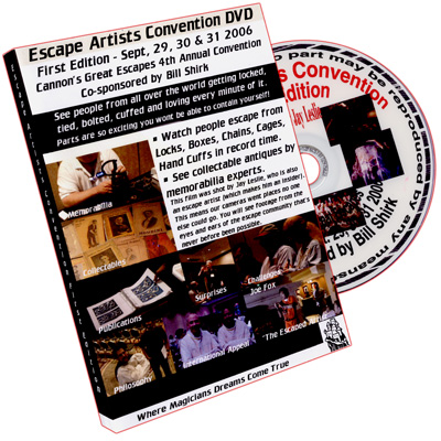 Escape Artists 2006 by House Of Enchantment - DVD