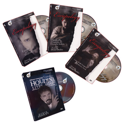 Escapology Volumes 1-3 + Bonus: Houdini Lives (4 DVD Set) by Dixie Dooley - DVD