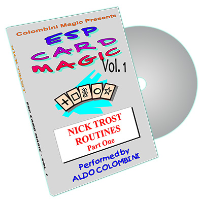 ESP Card Magic (Nick Trost Routines) Vol. 1 by Aldo Colombini - DVD