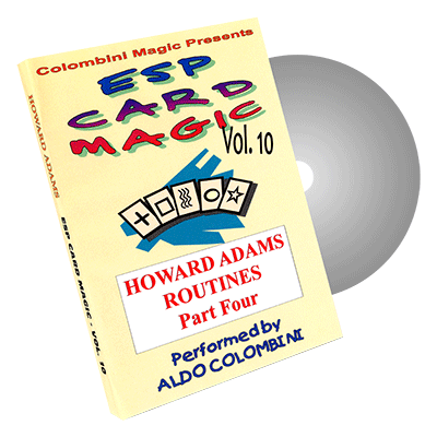 ESP Card Magic (Howard Adams) Vol. 10 by Aldo Colombini - DVD- DVD