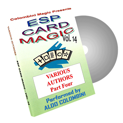 ESP Card Magic Vol.14 by Wild-Colombini - DVD