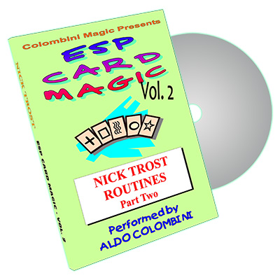 ESP Card Magic (Nick Trost Routines) Vol. 2  by Aldo Colombini - DVD
