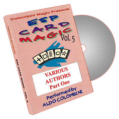 ESP Card Magic Vol. 5 by Aldo Colombini - DVD