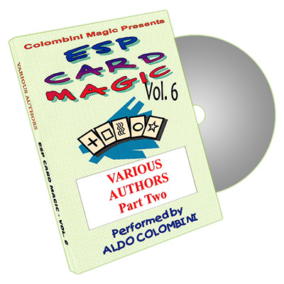 ESP Card Magic Vol. 6 by Aldo Colombini - DVD