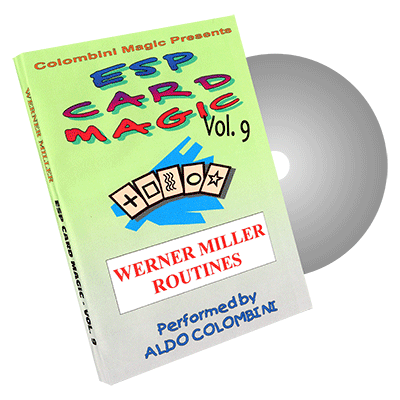 ESP Card Magic (Werner Miller) Vol. 9 by Aldo Colombini - DVD