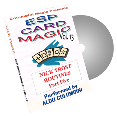 ESP Card Magic Volume 13 by Wild-Colombini Magic - DVD
