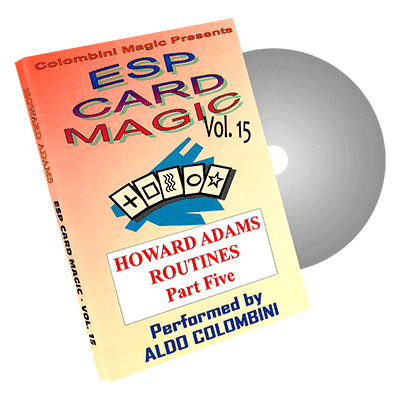 ESP Card Magic Vol.15 by Wild-Colombini Magic - DVD