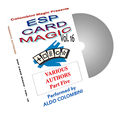 ESP Card Magic Vol.16 by Wild-Colombini Magic - DVD
