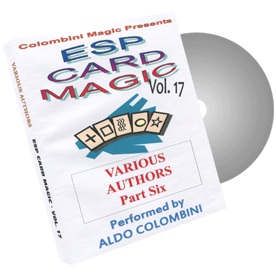 ESP Card Magic Vol.17 by Wild-Colombini Magic - DVD