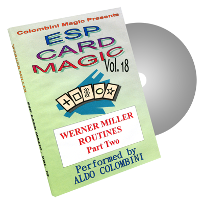 ESP Card Magic Volume 18 by Wild-Colombini Magic - DVD