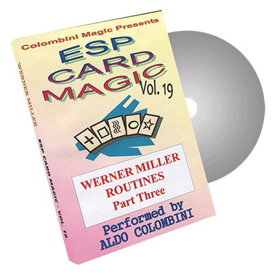 ESP Card Magic Volume 19 by Wild-Colombini Magic - DVD