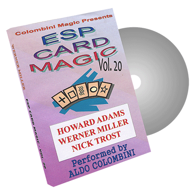 ESP Card Magic Volume 20 by Wild-Colombini Magic - DVD