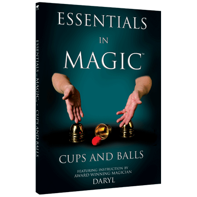 Essentials in Magic Cups and Balls - English video DOWNLOAD
