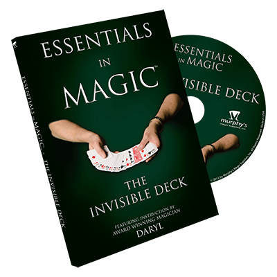Essentials in Magic Invisible Deck - DVD