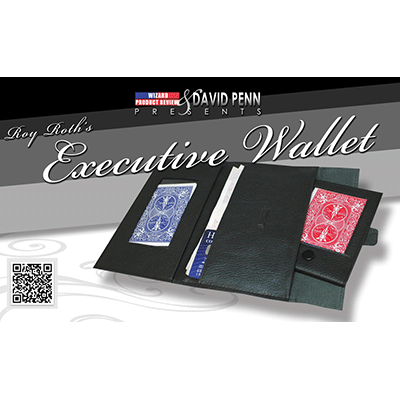 Executive Wallet (DVD and Gimmick) by David Penn and World Magic Shop - DVD