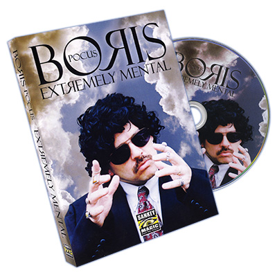 Extremely Mental (DVD and Book)  by Boris Pocus - DVD