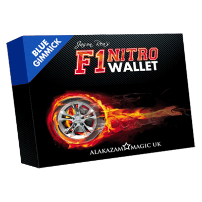 F1 Nitro Wallet Blue (Online Iinstructions and Gimmick) by Jason Rea - Trick
