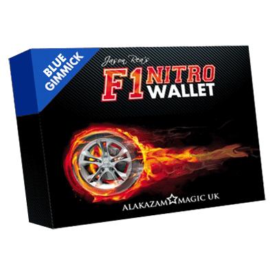F1 Nitro Wallet Blue (DVD & Gimmick) - Jason Rea - DVD
