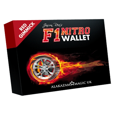 F1 Nitro Wallet Red (DVD and Gimmick) by Jason Rea & Alakazam UK - DVD