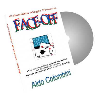 Face Off by Wild-Colombini Magic - DVD