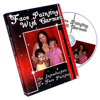 Face Painting With Carmen - DVD