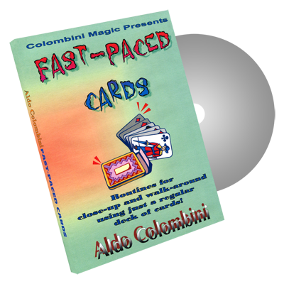 Fast-Paced Cards by Wild-Colombini Magic - DVD