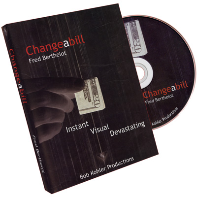 Changeabill by Fred Berthelot - DVD