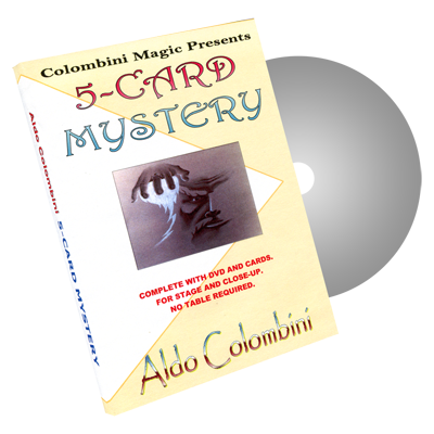 Five-Card Mystery by Wild-Colombini Magic - DVD