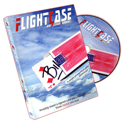 Flightcase (Red Back , DVD and Gimmick) by Peter Eggink - DVD