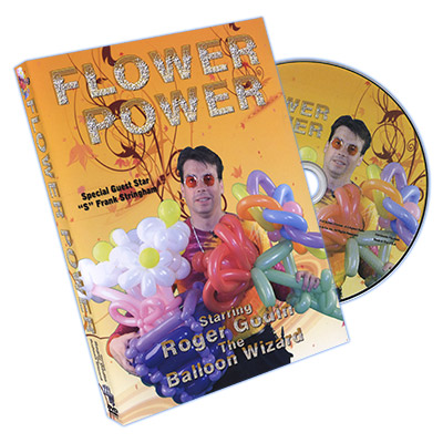 Flower Power by Roger Godin - DVD