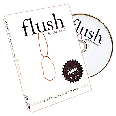 Flush (DVD and Gimmick) by John Stessel and Vanishing Inc. - DVD