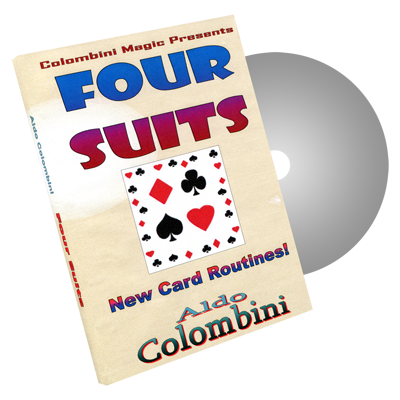 Four Suits by Wild-Colombini Magic - DVD