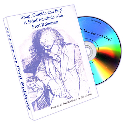Snap, Crackle, and Pop! A Brief Interlude with Fred Robinson Live - DVD