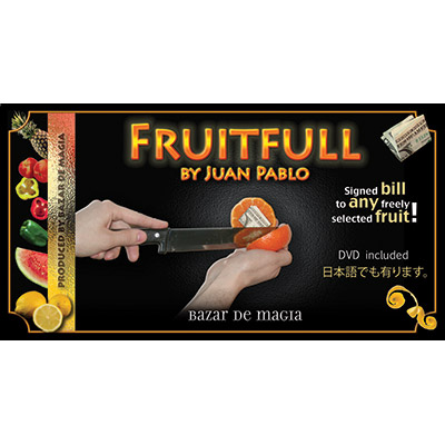 Fruitfull by Juan Pablo - DVD