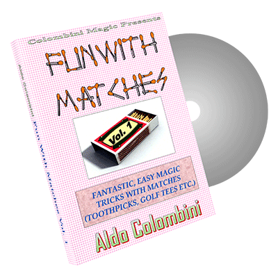 Fun With Matches Vol.1 by Wild-Colombini Magic - DVD