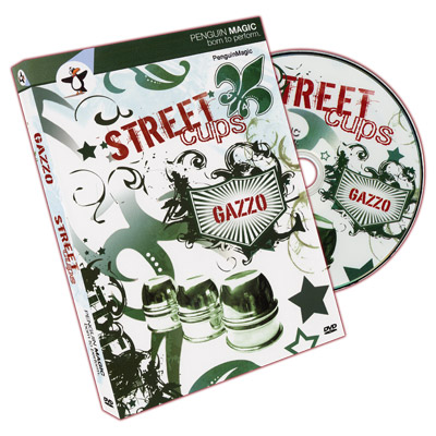 Street Cups DVD and book by Gazzo - DVD
