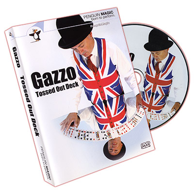 Gazzo Tossed Out Deck DVD(with Red Deck) by Gazzo