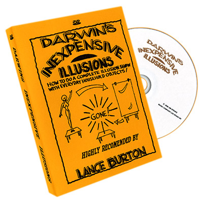 Inexpensive Illusions by Gary Darwin - DVD
