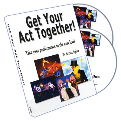 Get Your Act Together by Joanie Spina - DVD