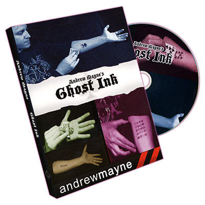 Ghost Ink by Andrew Mayne - DVD