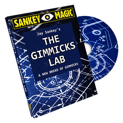 The Gimmicks Lab by Sankey Magic - DVD