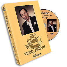 Salvano Thumbtips Greater Magic - #10, DVD