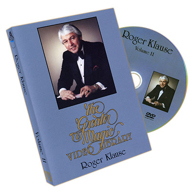 Greater Magic Video Volume 11 - Roger Klause Vol.1 - DVD