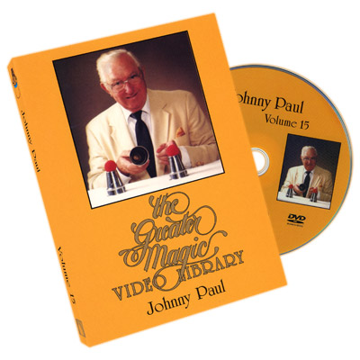 Greater Magic Volume 15 - Johnny Paul - DVD