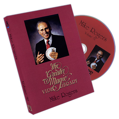 The Greater Magic Video Library Volume 32 - Mike Rogers - DVD
