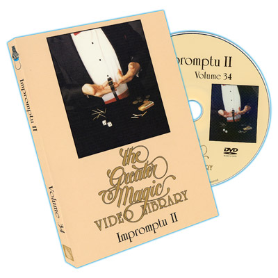 Greater Magic Volume 34 - Impromptu Vol.2 - DVD