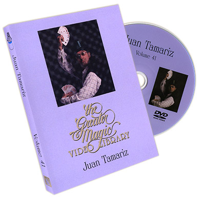 The Greater Magic Video Library Volume 41-Juan Tamariz - DVD