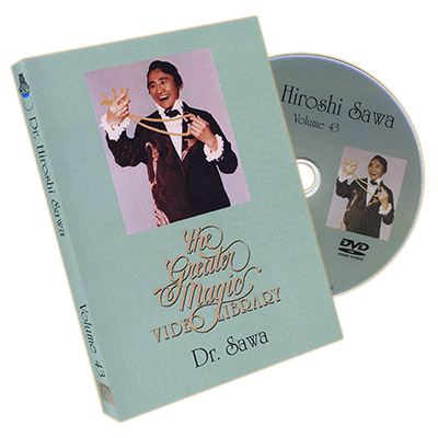 The Greater Magic Video Library Volume 43 - Dr. Hiroshi Sawa - DVD