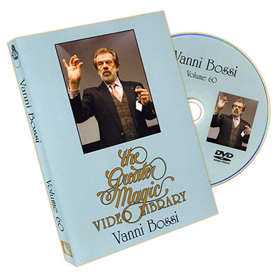 The Greater Magic Video Library Volume 60 - Vanni Bossi - DVD